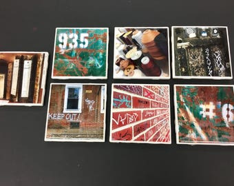 Assorted Photography Ceramic Coasters/ Tiles