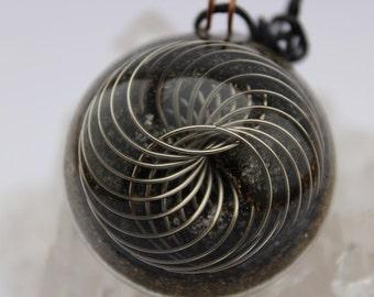 Energy Charged Orgone Pendant Torus