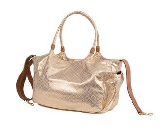 Stylish Shiny Diaper Bag