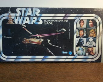 Star Wars Escape From Death Star Game - complete with box