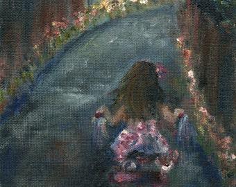 Pedals Through Petals