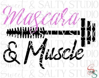 mascara and muscle digital file