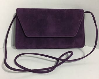 Purple Purse - Shoulder Bag - Rigid Purse - Cabrelli Canada
