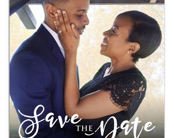 5x7 Custom Save The Date