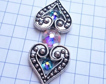 """Bindi """"Two hearts"""" for tribal dance, for life"""