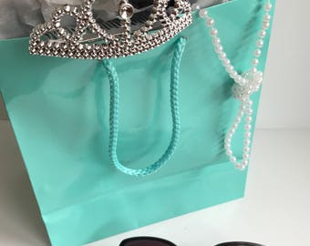 Tiffany and Co. Inspired Favor Bags