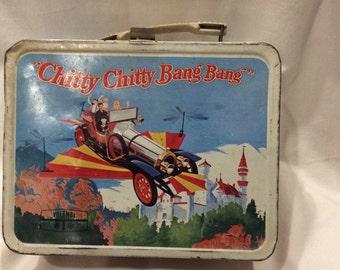 A Vintage Chitty Chitty Bang Bang Lunch Box