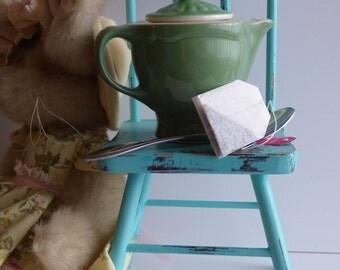 Vintage Green Shenango, Tea for One, Individual Teapot