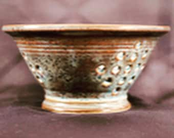 Berry Bowl/Strainer Made to order