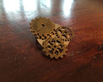 Steampunk Pin Brooch