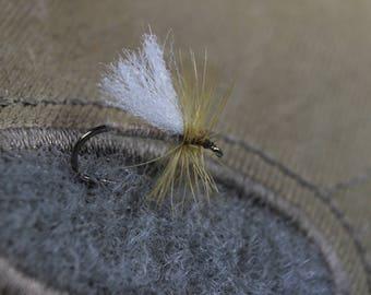 3-pak Polywing Caddis flies, Caddis dry flies, Yellow Sally dry flies, Trout flies, dry flies, Caddis flies