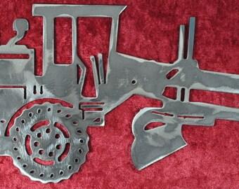 "Road Grader 12"", Heavy Equipment, Grader, Blade, Maintainer, Motor Grader, Caterpillar Inspired, Heavy Equipment Operator, Gift for Him"