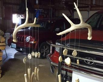 Deer Antler Wind chimes