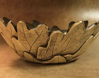 Medium Oak Leaf Bowl 50