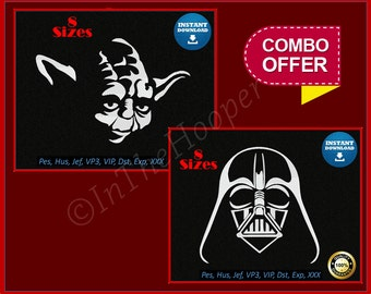 STAR WARS EMBROIDERY Designs Pes, Hus, Jef, Dst, Exp, Jef+, Vip, Vp3, Xxx