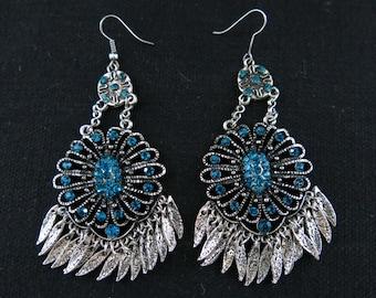 Elegant earrings from Kyrgyzstan