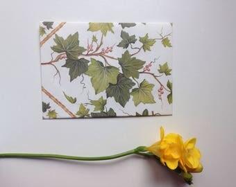 Handmade Grape Leave Envelope