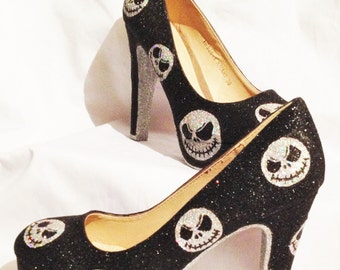 Nightmare before christmas heels * *  * UK SIZES 3-8