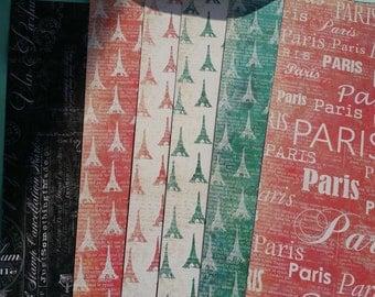 Paris Themed 12x12 Paper