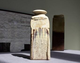 Steuler 'Objekt' Vase 319 by Heiner Balzar - Vintage German Art Pottery