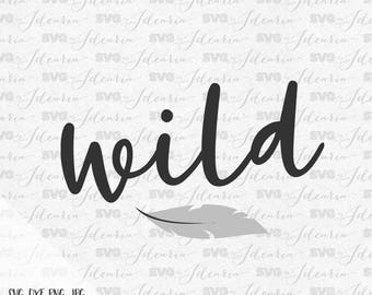 Wild Svg Svg Sayings Bohemian svg Bohemian svg files for silhouette svg files for cricut svg files sayings svg svg vinyl designs arrow svg