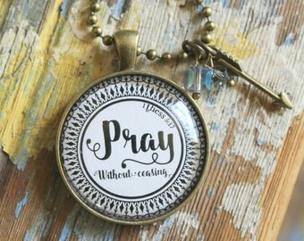 Necklace-Pray-Handmade