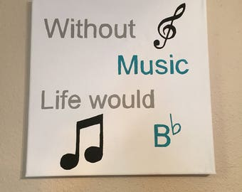 Music Wall Art Canvas