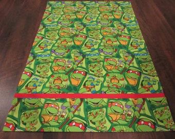 Pillowcase, Ninja Turtles, Sleep, Bed, Cover, Green