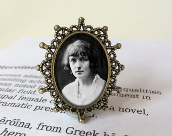 Katherine Mansfield Brooches, 4 x Katherine Mansfield Brooches for Bernard Bosque