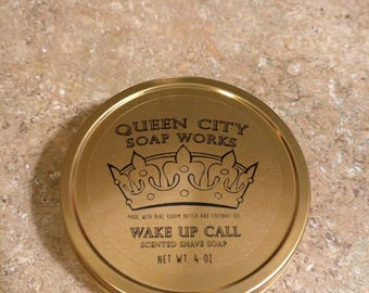 Wake Up Call (Columbian Coffee) Premium Shave Soap