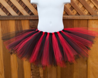 Black and Red Tutu - Other Colors Available