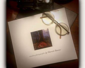random photographs by Darrick Barron, photo book