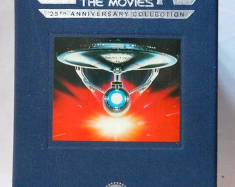 Star Trek The Movies 25th Anniversary VHS Set With Commemorative Pins Sealed