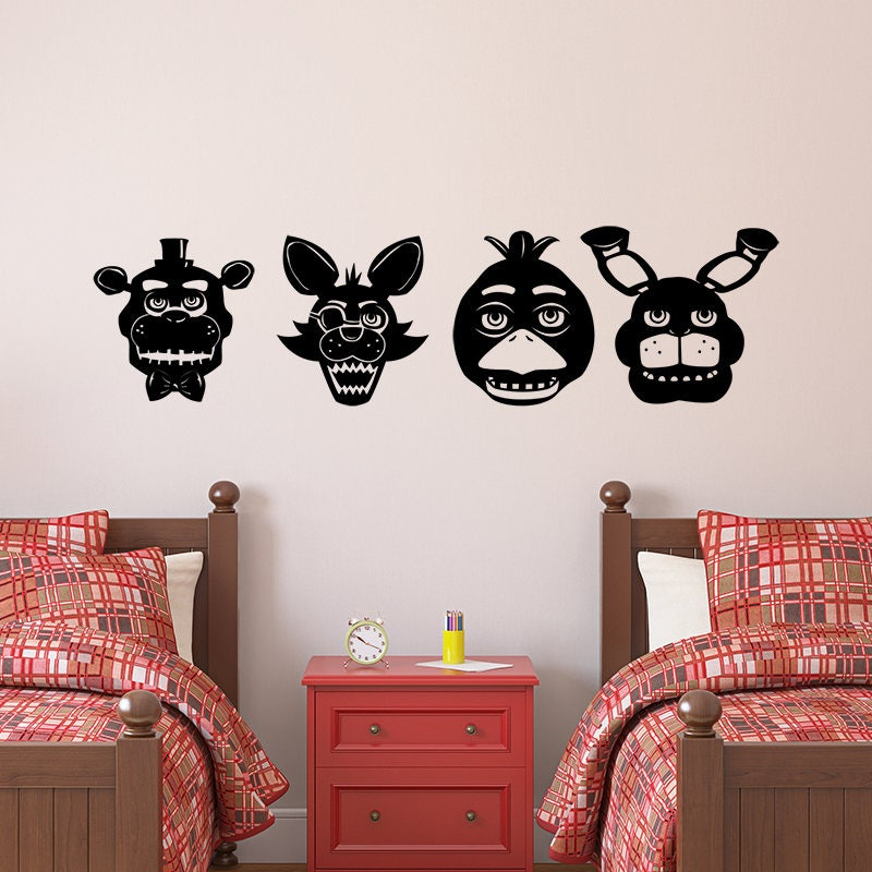 Five Nights At Freddys Svg Complete Fnaf Cutout For