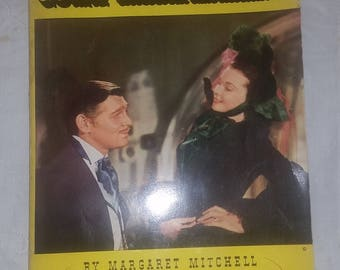 Gone With the Wind Motion Picture Edition, VG paperback in mylar wrap. Margaret Mitchell, one of the great novels.