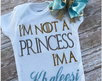 baby girl clothes, baby girl outfit, funny baby shirt, boutique shirt, baby onesie, girls shirt, clothing, princess shirt, princess outfit