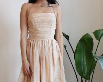 1950's Blush Dress