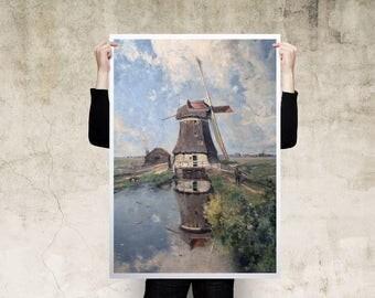 Paul Joseph Constantin Windmill Art Print Poster