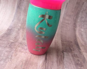 Personalized Toddler Cup, Sippy Cup, Child Cup, Kids Tumbler, Personalized Kids Cups