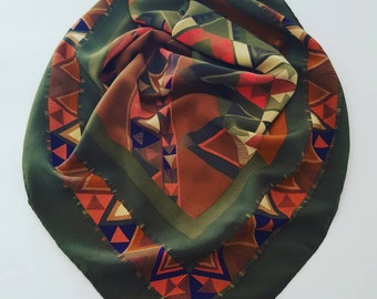 Lady vintage scarves
