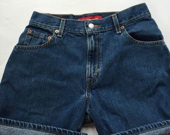 High waisted levi shorts size 6 29 waist