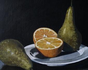 Orange and Pears