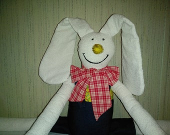 Jeans & Yellow Bunny Draftstopper