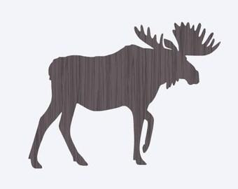 Moose SVG Cricut CUT File Animal Wild