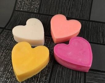 Mega Heart Melts, Soy Wax Melts, Scented Wax Melts, Heart Melts, Shaped Wax Melts, Scented Soy Wax, Scented Hearts