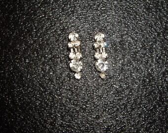 1940's Diamante Earrings