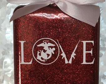 Marines love ornament