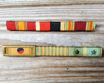 Military Ribbon Boards Vintage Free Shipping