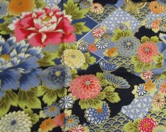 Japanese patchwork fabric