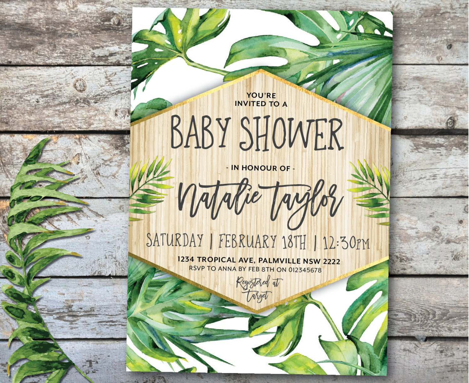Luau Party Invitations  Tropical amp Beach Party Winter